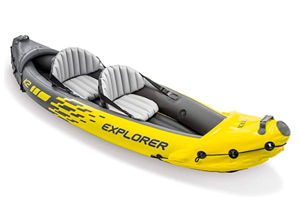 Intex Explorer K2 Inflatable Sit-on-Top Kayak review